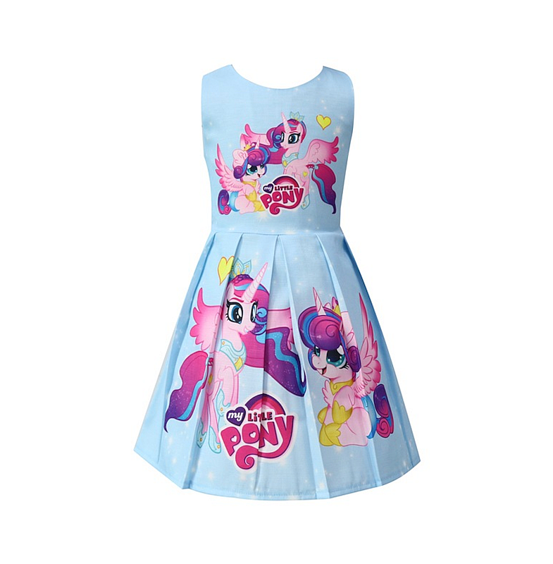 DRESS ANAK PEREMPUAN MY LITTLE PONY BLUE #19